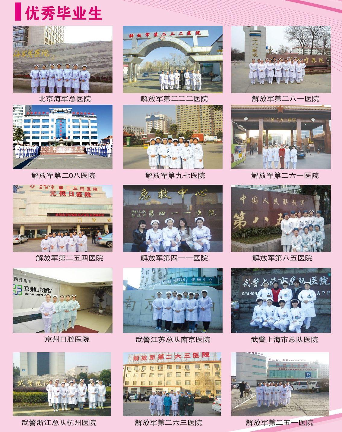 石家庄天使护士学校招生计划一览表。