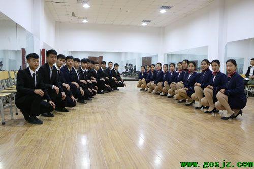 石家庄工程职业学院空乘专业实训课